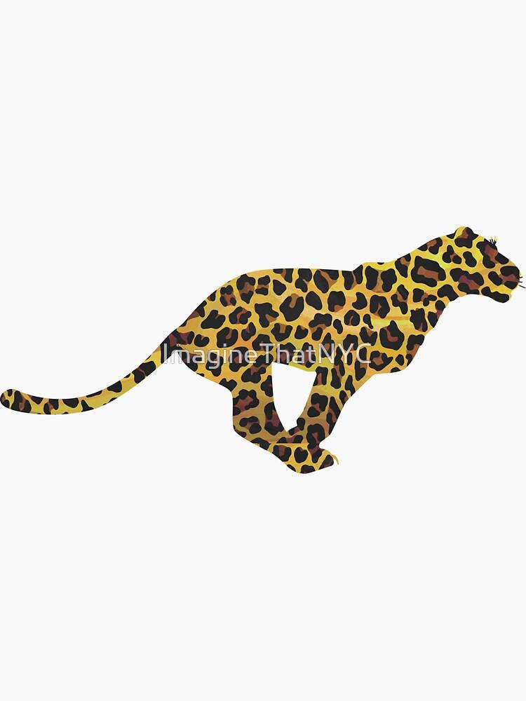 Leopard Brown and Yellow Print de ImagineThatNYC