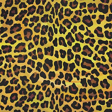 Leopard Brown and Yellow Print de ImagineThatNYC