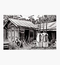 The Old Farm Shed Photographic Print
