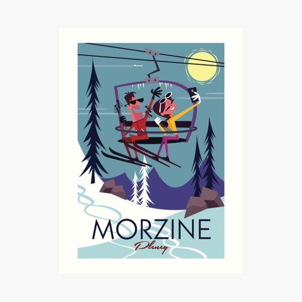 Morzine Poster Art Print