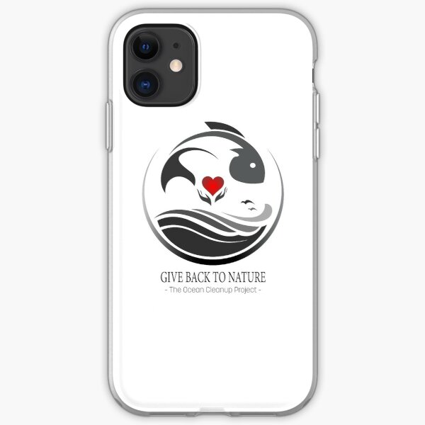 Give Back to Nature - The Ocean Clean Up Project iPhone Soft Case