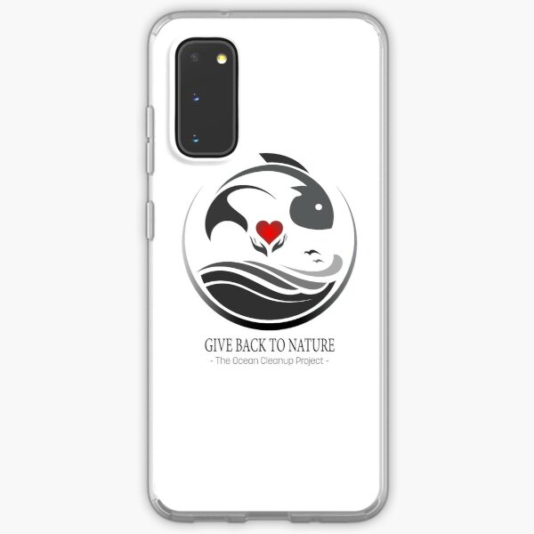 Give Back to Nature - The Ocean Clean Up Project Samsung Galaxy Soft Case