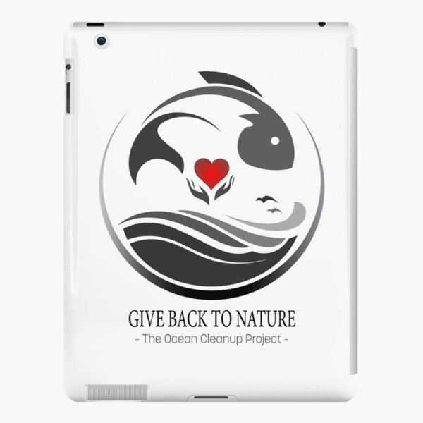 Give Back to Nature - The Ocean Clean Up Project iPad Snap Case