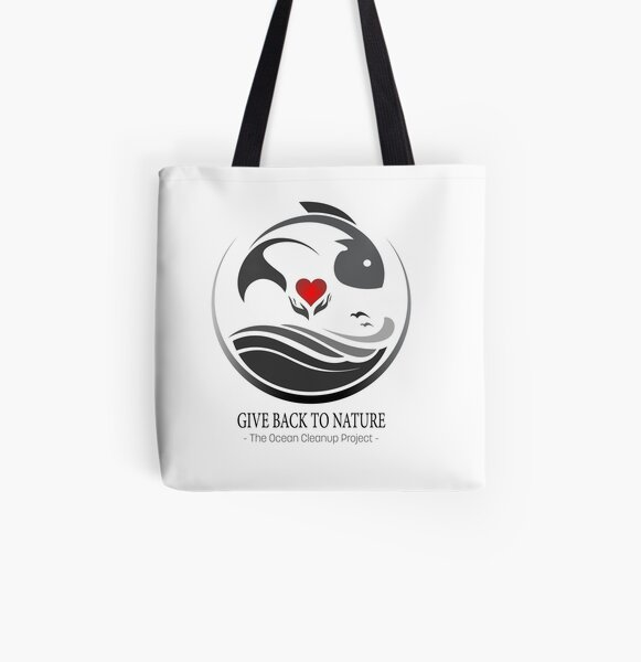 Give Back to Nature - The Ocean Clean Up Project All Over Print Tote Bag