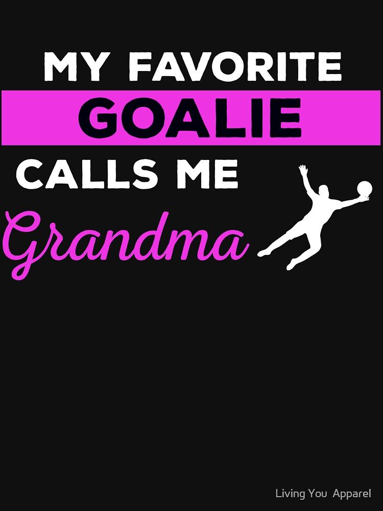 Funny Soccer Grandma Tshirt Gift by mikevdv2001