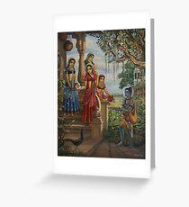 Krishna as shaiva sanyasi Greeting Card