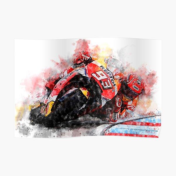 Marc M. Course de vélo Poster
