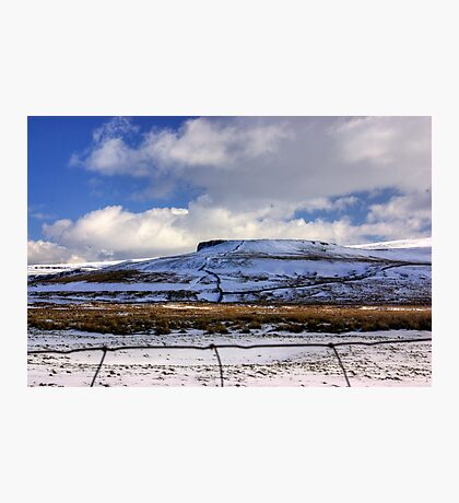 The Beauty of the Dales in Winter Photographic Print