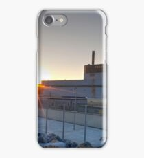 Dungeness B At Sunset iPhone Case/Skin