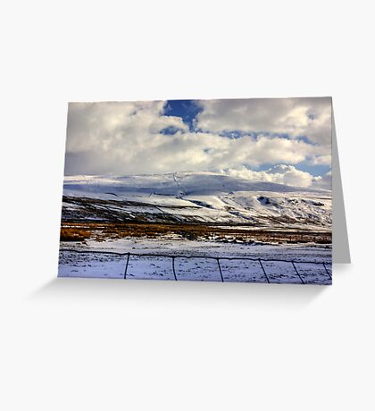 Buckden Pike Greeting Card