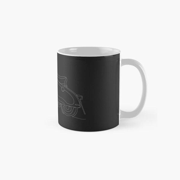 Lambretta Series 2 Winter Model (Black Graphic)  Classic Mug
