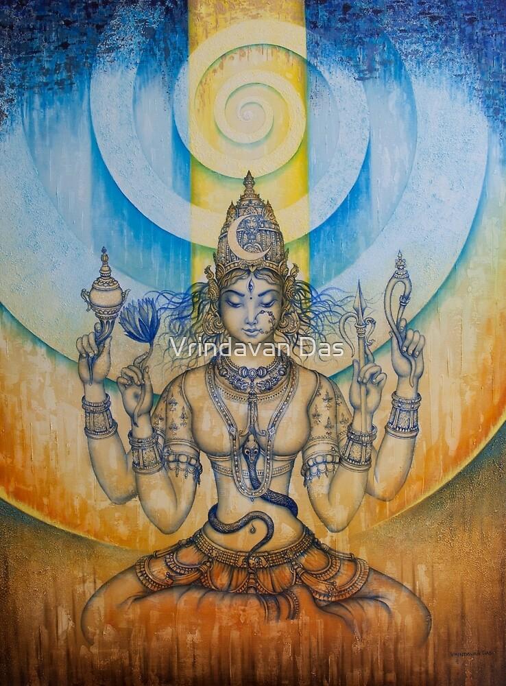 Tripura Sundari Shodashi by Vrindavan Das