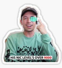 Pegatina Nic Level 9000