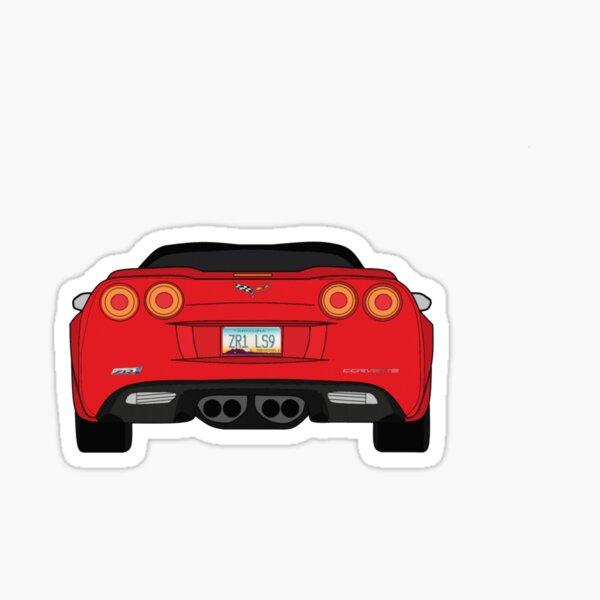 Corvette ZR-1 C6 Sticker