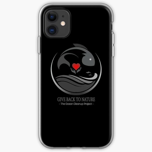 Give Back to Nature - The Ocean Cleanup Project iPhone Soft Case