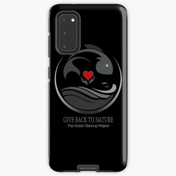 Give Back to Nature - The Ocean Cleanup Project Samsung Galaxy Tough Case