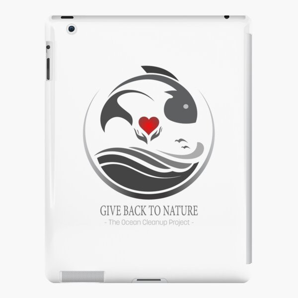 Give Back to Nature - The Ocean Cleanup Project iPad Snap Case