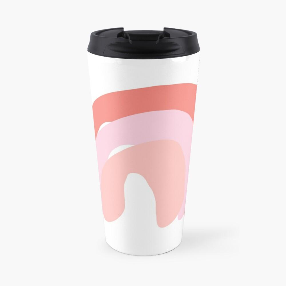 Soft Rainbow Travel Mug