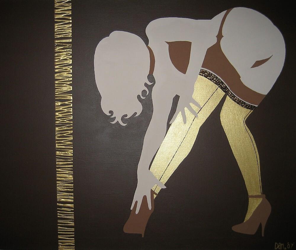 Gold Stockings by Dan Carman