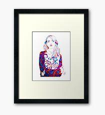 Alison Brie  Framed Print