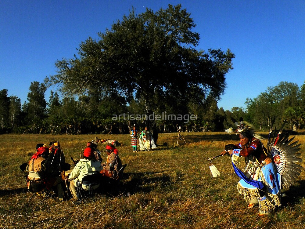 Native Ceremony ~ Part Two by artisandelimage