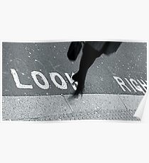 """Look Right!"" Poster"