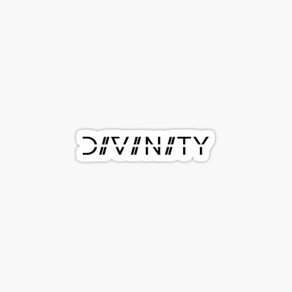 D I V I N I T Y Logo Sticker