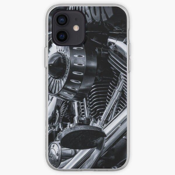 Harley Davidson Moto Coque souple iPhone