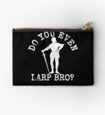 Vintage LARPing Design Do You Even Larp Bro? Studio Pouch