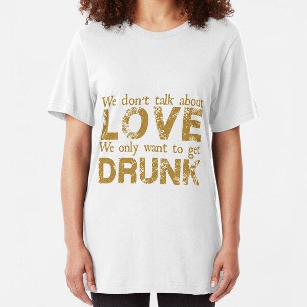 Manic Street Preachers - We Don't Talk About Love Slim Fit T-Shirt