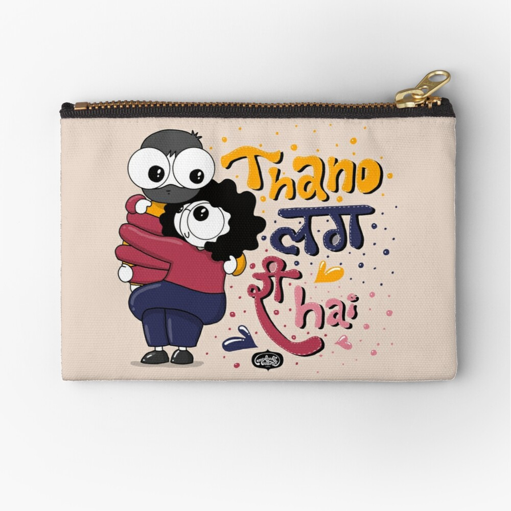 Baby it's Cold Outside Zipper Pouch