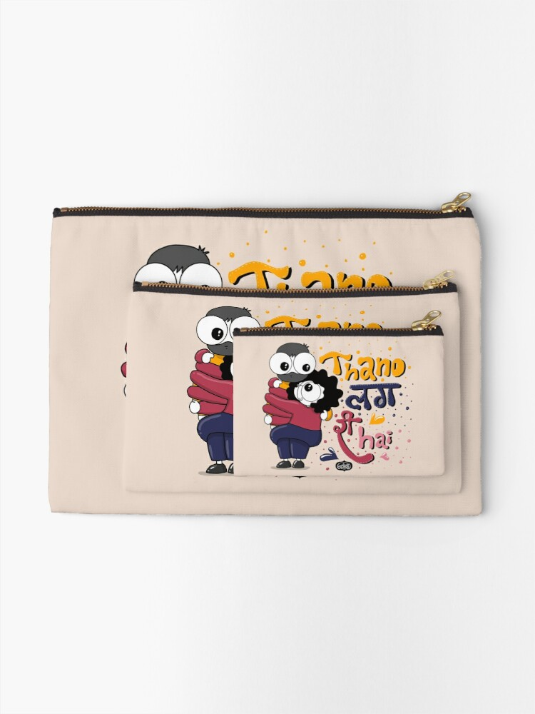 Alternate view of Baby it's Cold Outside Zipper Pouch