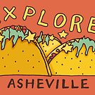 Asheville Taco Mountain by Annie Riker