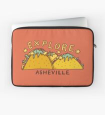 Asheville Taco Mountain Laptop Sleeve