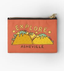 Asheville Taco Mountain Studio Pouch