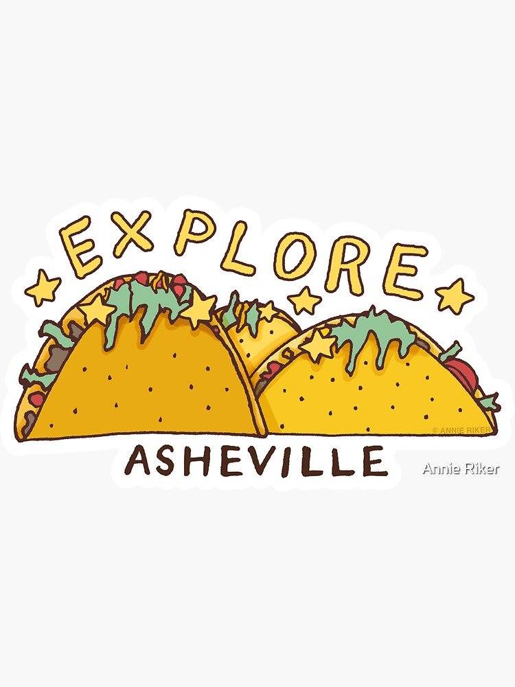 Asheville Taco Mountain by annieriker