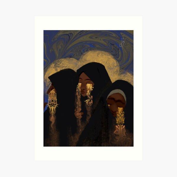 The Mourners Art Print