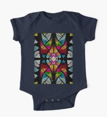 stained glass fractal Kids Clothes