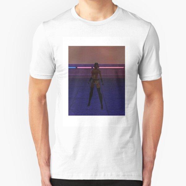 Vaeleth of Delta Pavonis Slim Fit T-Shirt