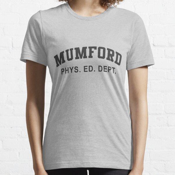 Beverly Hills Cop Mumford T-shirt Axel Foley Phys Ed Dept Detroit 80s vintage retro Essential T-Shirt