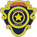 Raccoon City Police Department Badge Resident Evil 2 Embroidered Patch Style Badge Sticker By Surik Redbubble