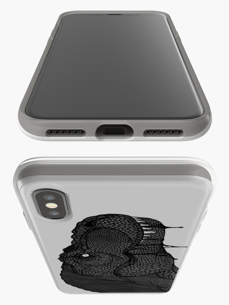 Vista alternativa de Funda y vinilo para iPhone Tirano saurio Rex