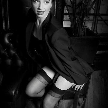1930's Cabaret Portrait 1 by maguirephoto
