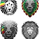 Lion Tuff Sticker Pack by LionTuff79