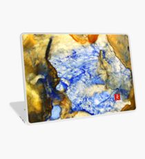 Sea Cave Abstraction Laptop Skin