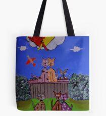 Pussies galore Tote Bag