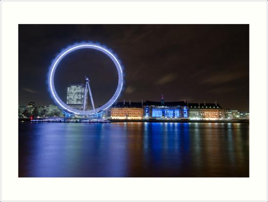Blue London by muzy