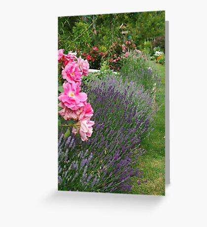 Lavender & Roses Greeting Card