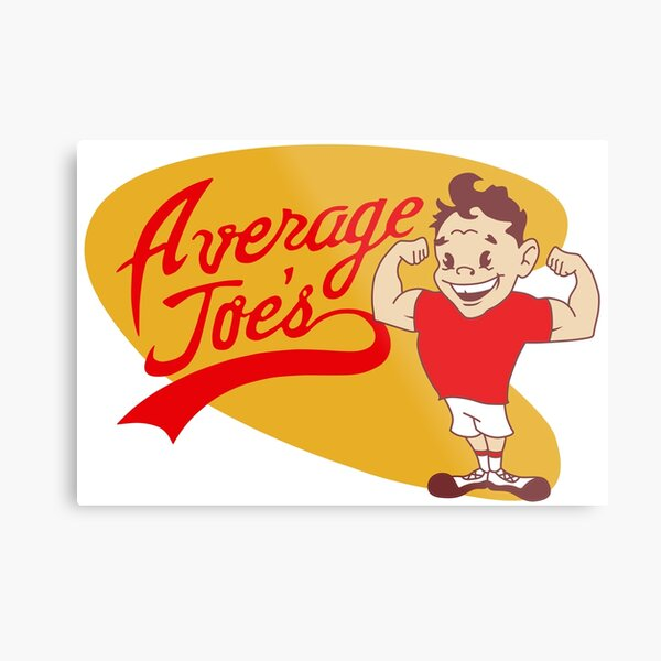Average Joe's Gym Dodgeball Metal Print