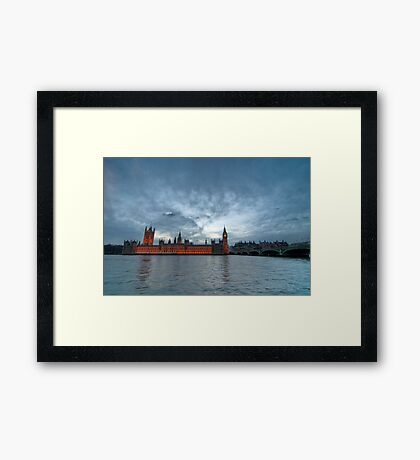 Houses of P Framed Print
